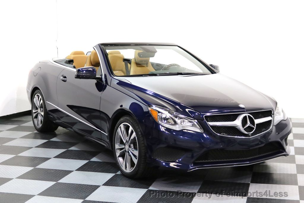 2015 Mercedes-Benz E-Class CERTIFIED E400 SPORT PACKAGE CONVERTIBLE - 17179685 - 27
