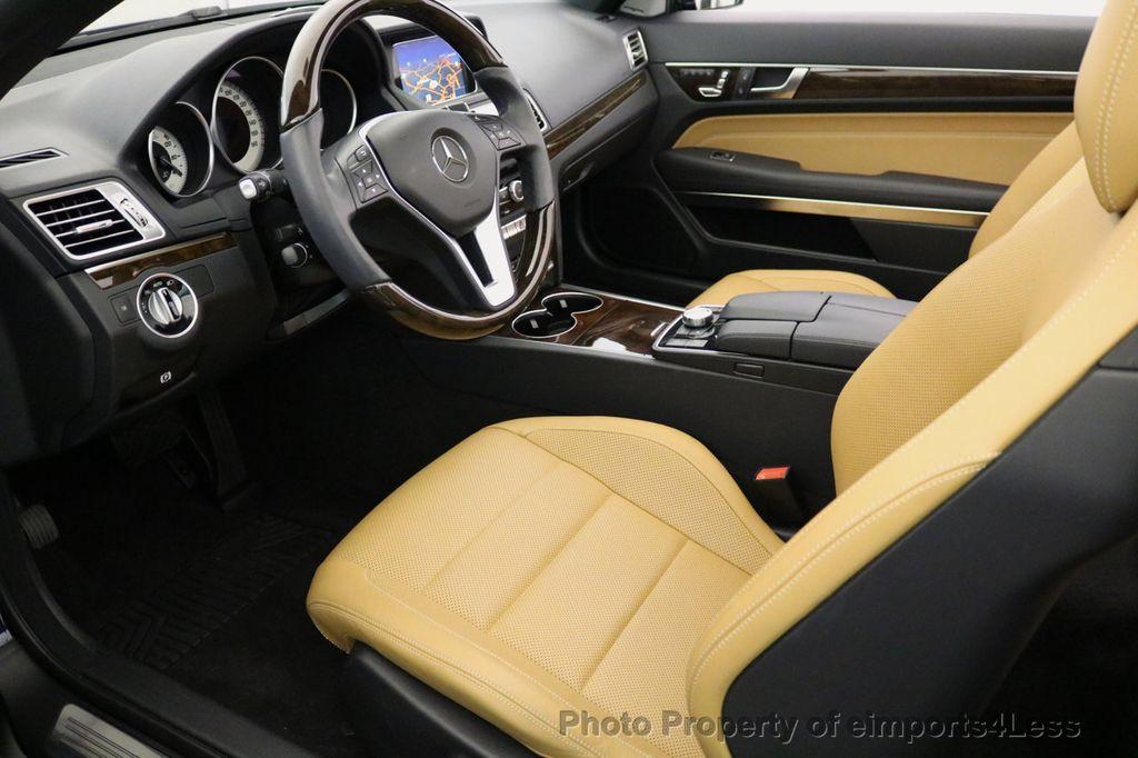 2015 Mercedes-Benz E-Class CERTIFIED E400 SPORT PACKAGE CONVERTIBLE - 17179685 - 33