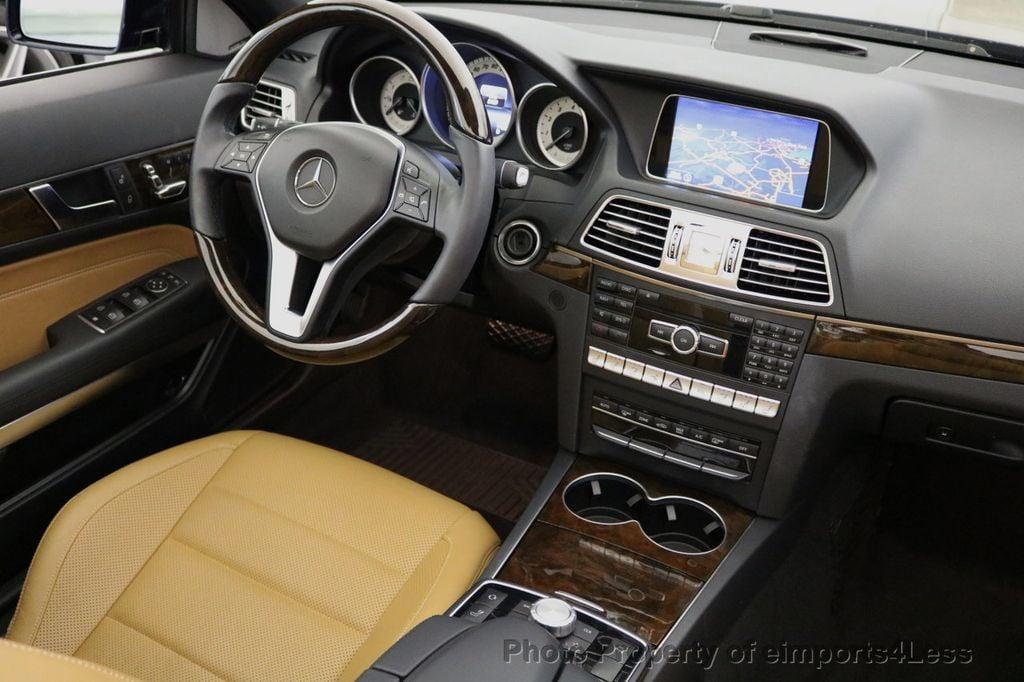 2015 Mercedes-Benz E-Class CERTIFIED E400 SPORT PACKAGE CONVERTIBLE - 17179685 - 34