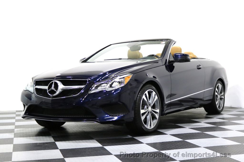 2015 Mercedes-Benz E-Class CERTIFIED E400 SPORT PACKAGE CONVERTIBLE - 17179685 - 39