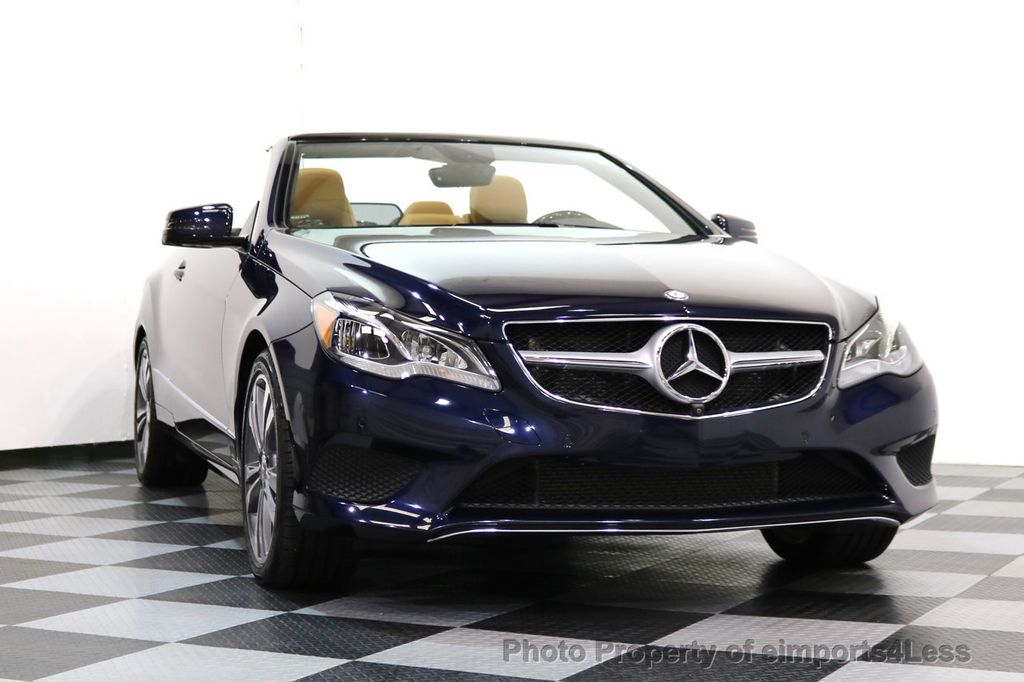 2015 Mercedes-Benz E-Class CERTIFIED E400 SPORT PACKAGE CONVERTIBLE - 17179685 - 40