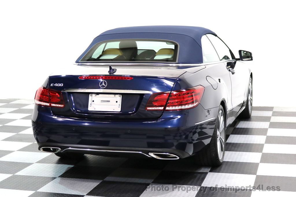 2015 Mercedes-Benz E-Class CERTIFIED E400 SPORT PACKAGE CONVERTIBLE - 17179685 - 42