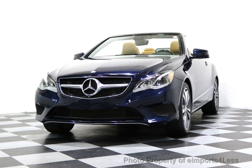 2015 Mercedes-Benz E-Class CERTIFIED E400 SPORT PACKAGE CONVERTIBLE - 17179685 - 43