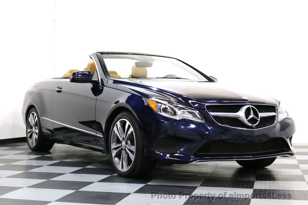 2015 Mercedes-Benz E-Class CERTIFIED E400 SPORT PACKAGE CONVERTIBLE - 17179685 - 46
