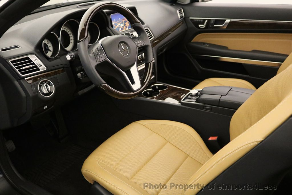 2015 Mercedes-Benz E-Class CERTIFIED E400 SPORT PACKAGE CONVERTIBLE - 17179685 - 7