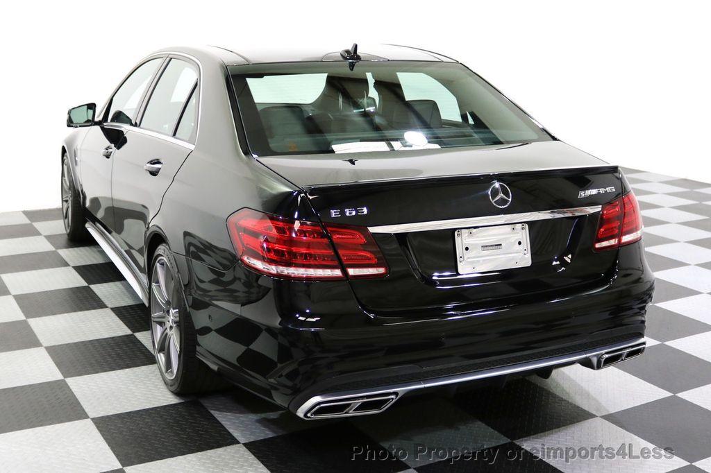 2015 Mercedes-Benz E-Class CERTIFIED E63 S-AMG 4MATIC AWD Lane Tracking CAMS NAV - 17759843 - 15