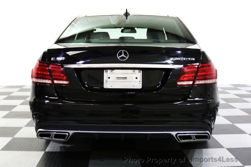 2015 Mercedes-Benz E-Class CERTIFIED E63 S-AMG 4MATIC AWD Lane Tracking CAMS NAV - 17759843 - 16
