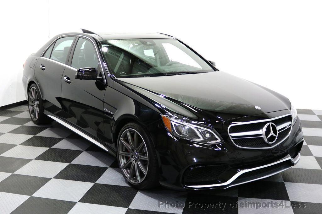 2015 Mercedes-Benz E-Class CERTIFIED E63 S-AMG 4MATIC AWD Lane Tracking CAMS NAV - 17759843 - 1