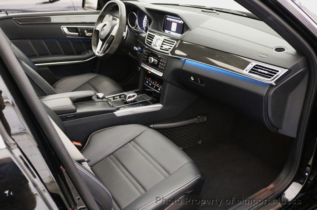 2015 Mercedes-Benz E-Class CERTIFIED E63 S-AMG 4MATIC AWD Lane Tracking CAMS NAV - 17759843 - 30