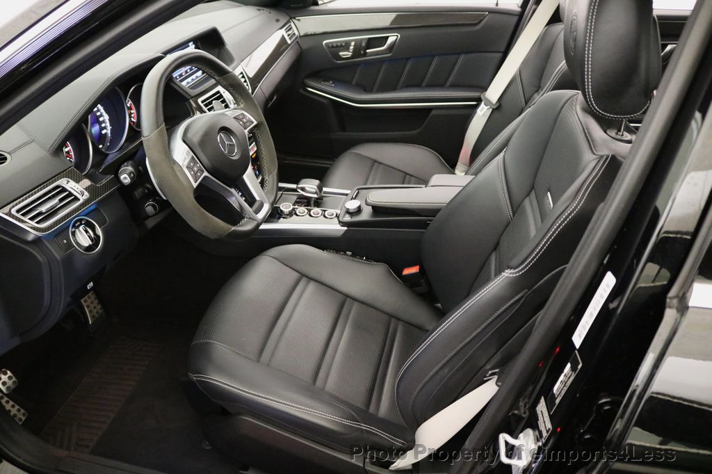 2015 Mercedes-Benz E-Class CERTIFIED E63 S-AMG 4MATIC AWD Lane Tracking CAMS NAV - 17759843 - 33