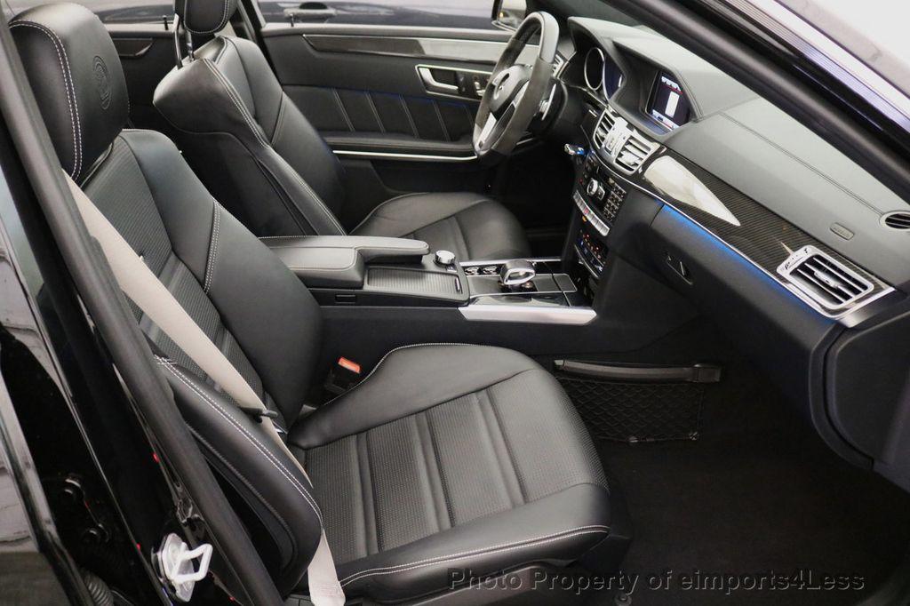 2015 Mercedes-Benz E-Class CERTIFIED E63 S-AMG 4MATIC AWD Lane Tracking CAMS NAV - 17759843 - 34