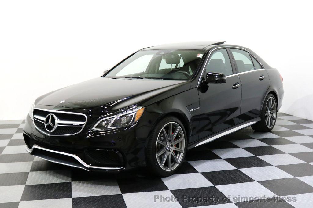 2015 Mercedes-Benz E-Class CERTIFIED E63 S-AMG 4MATIC AWD Lane Tracking CAMS NAV - 17759843 - 35
