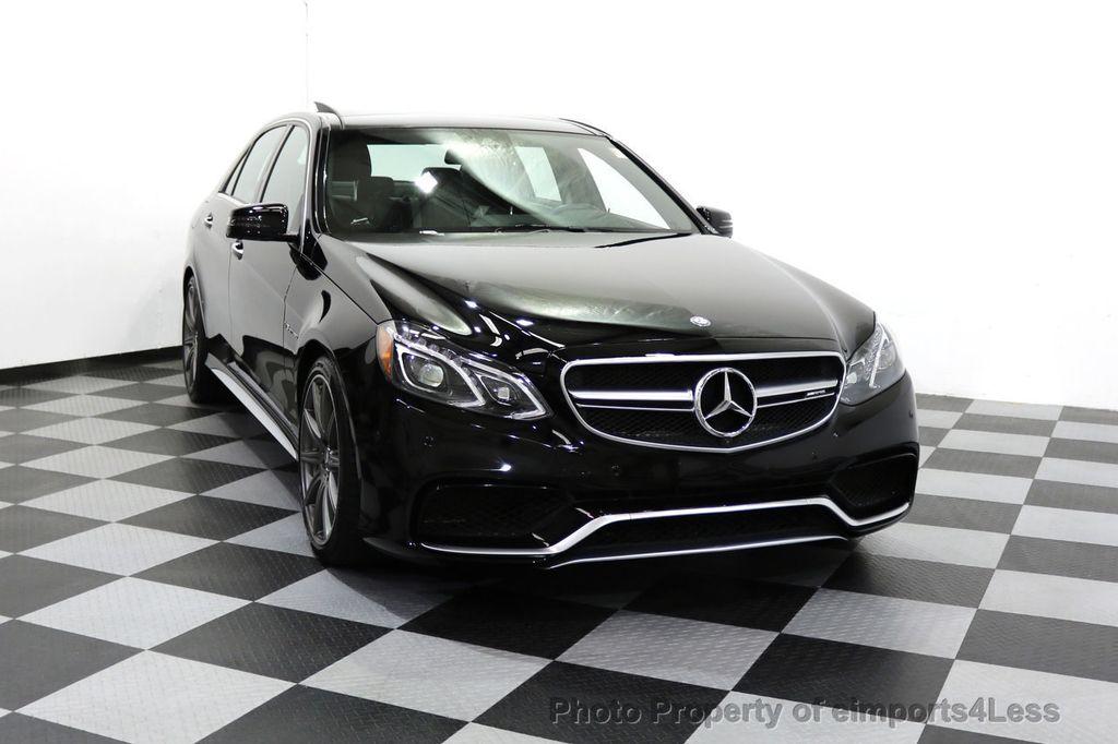 2015 Mercedes-Benz E-Class CERTIFIED E63 S-AMG 4MATIC AWD Lane Tracking CAMS NAV - 17759843 - 36