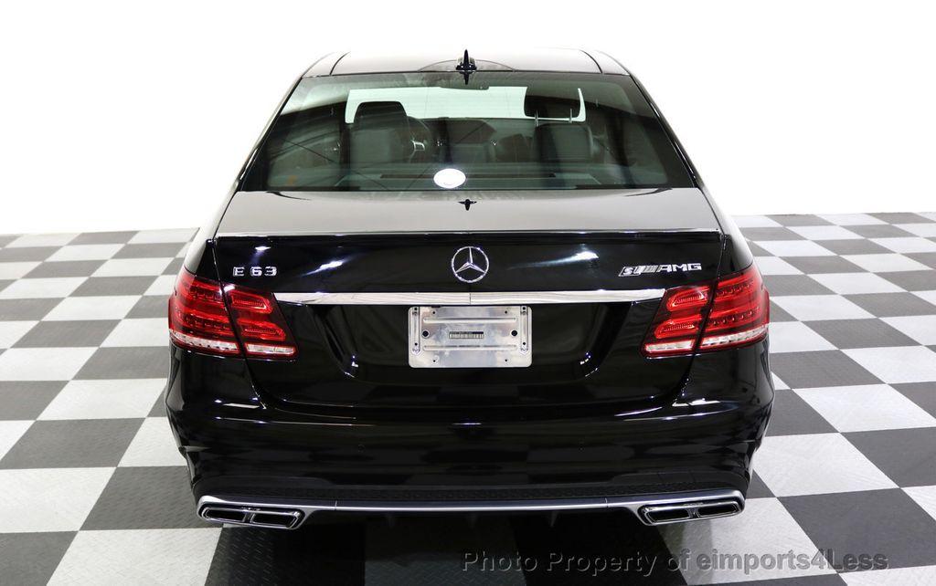 2015 Mercedes-Benz E-Class CERTIFIED E63 S-AMG 4MATIC AWD Lane Tracking CAMS NAV - 17759843 - 38