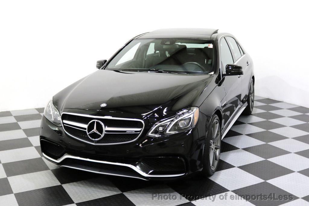 2015 Mercedes-Benz E-Class CERTIFIED E63 S-AMG 4MATIC AWD Lane Tracking CAMS NAV - 17759843 - 43