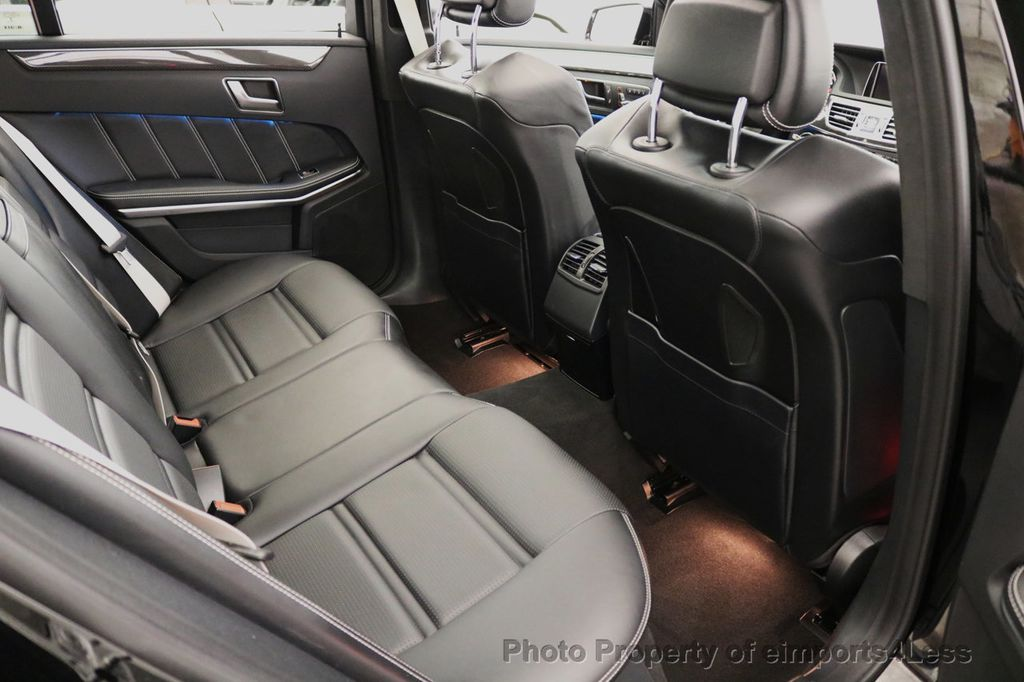 2015 Mercedes-Benz E-Class CERTIFIED E63 S-AMG 4MATIC AWD Lane Tracking CAMS NAV - 17759843 - 50