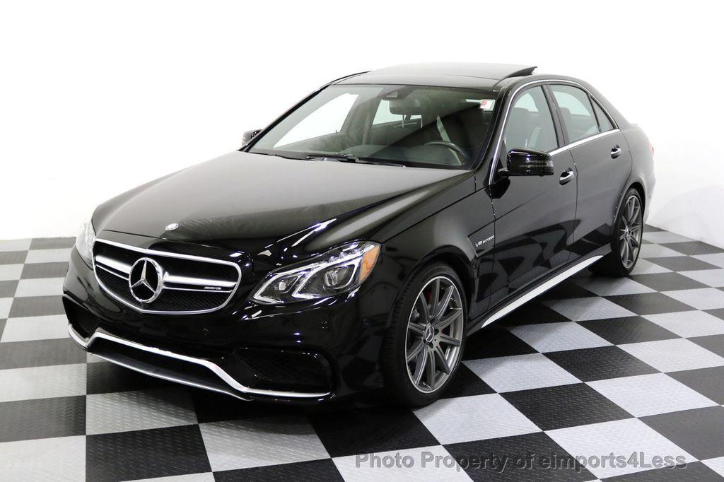 2015 Mercedes-Benz E-Class CERTIFIED E63 S-AMG 4MATIC AWD Lane Tracking CAMS NAV - 17759843 - 51