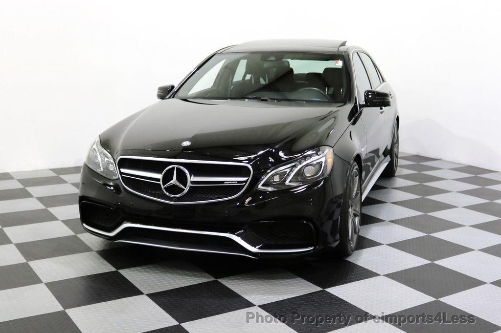2015 Mercedes-Benz E-Class CERTIFIED E63 S-AMG 4MATIC AWD Lane Tracking CAMS NAV - 17759843 - 52