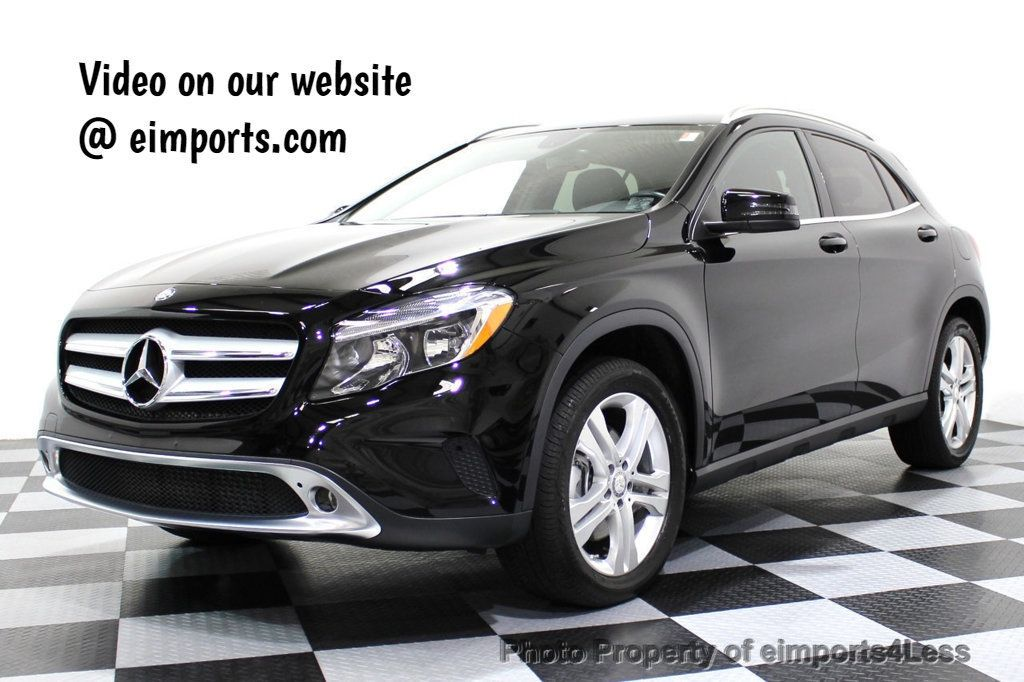 2015 Mercedes-Benz GLA CERTIFIED GLA250 4MATIC AWD CAMERA NAVIGATION - 16700224 - 0