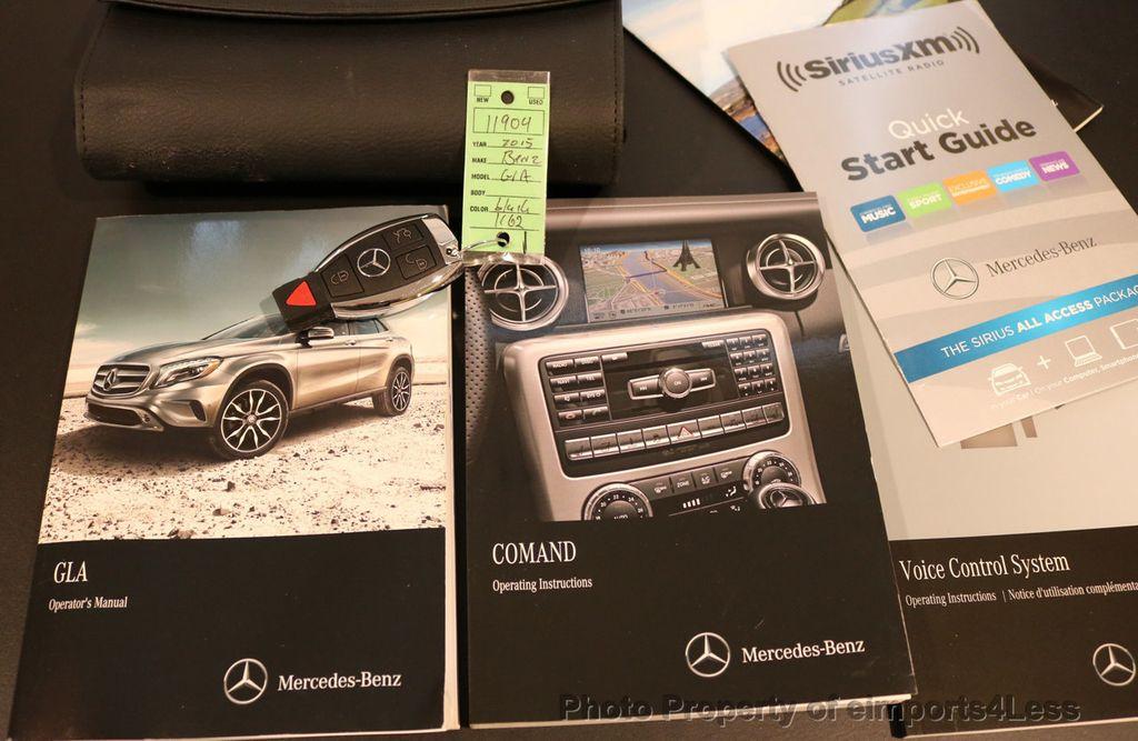 2015 Mercedes-Benz GLA CERTIFIED GLA250 4Matic AWD CAMERA PANO NAVIGATION - 17234264 - 32