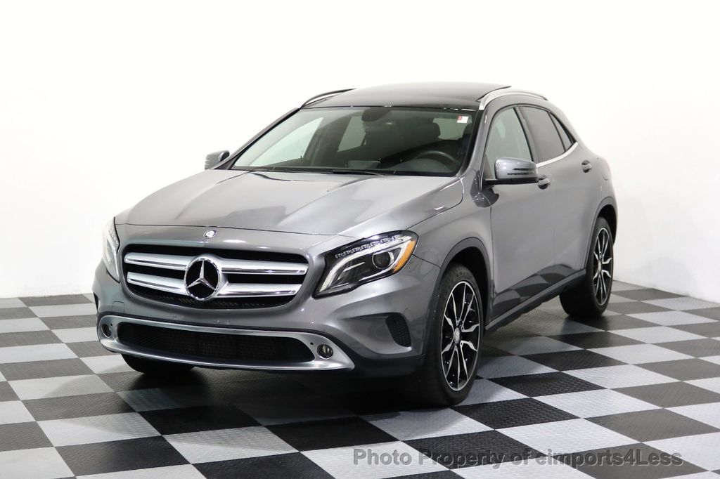 2015 Mercedes-Benz GLA CERTIFIED GLA250 4Matic AWD PANO CAMERA NAVI - 17179683 - 0