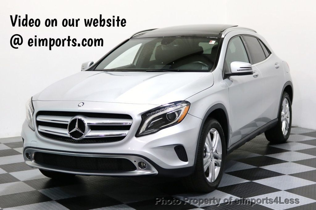 2015 Mercedes-Benz GLA CERTIFIED GLA250 4Matic AWD PANORAMA NAVIGATION - 16950822 - 0