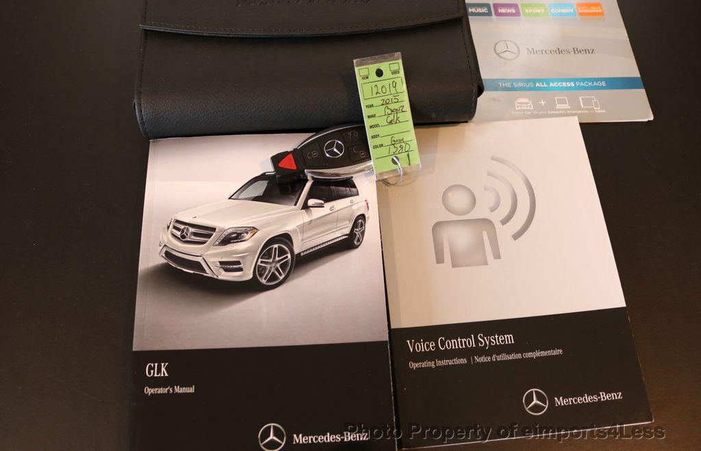 2015 Mercedes-Benz GLK CERTIFIED GLK350 4Matic AWD PANO CAMERA NAVIGATION - 17401993 - 40