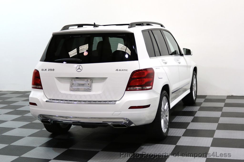 2015 Mercedes-Benz GLK CERTIFIED GLK350 4Matic AWD PANORAMA CAMERA NAVI - 17401909 - 18