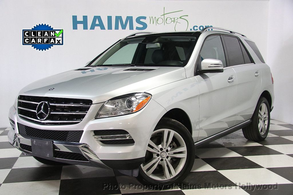 2015 mercedes benz m class 4matic 4dr ml 350 suv for sale for Mercedes benz hollywood fl