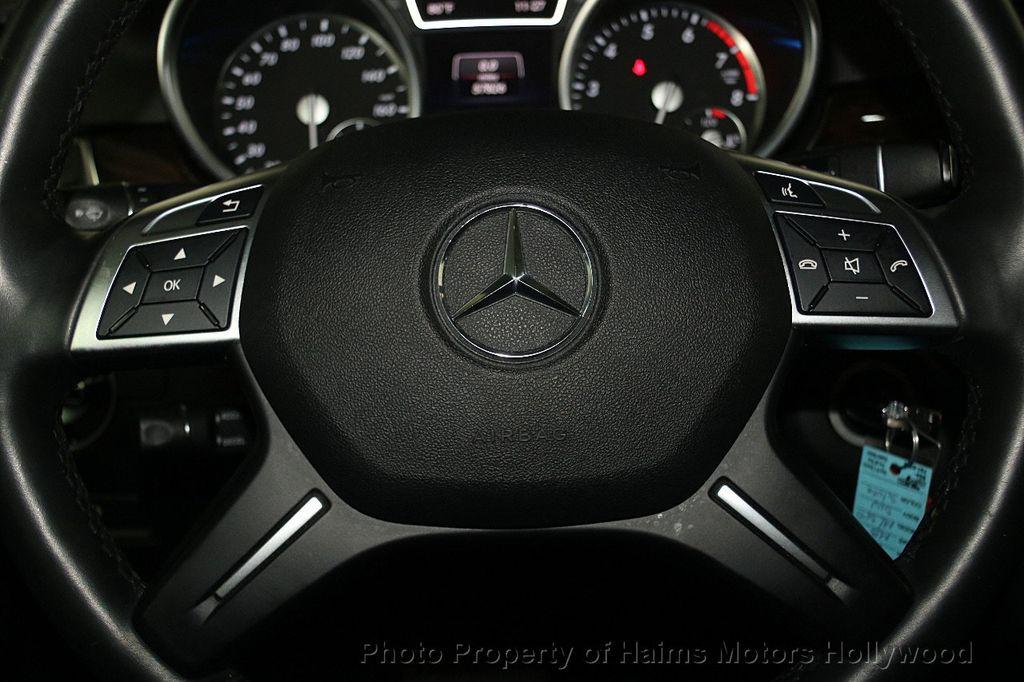 2015 Mercedes-Benz M-Class 4MATIC 4dr ML 350 - 16997413 - 28