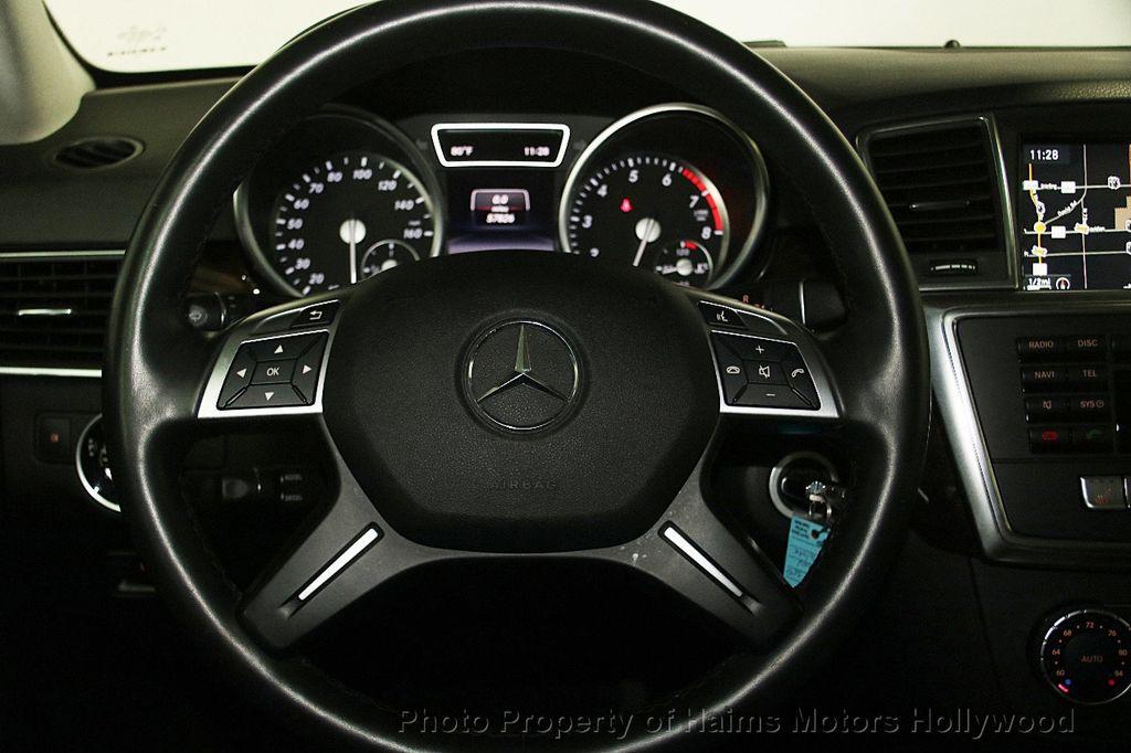 2015 Mercedes-Benz M-Class 4MATIC 4dr ML 350 - 16997413 - 29