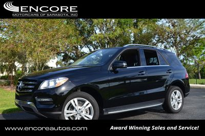 2015 Mercedes-Benz M-Class 4MATIC 4dr ML 350 W/P1 Package and Navigation SUV