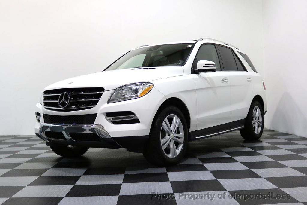 2015 Mercedes-Benz M-Class CERTIFIED ML250 4Matic BlueTec Diesel AWD Blind Spot CAM NAV - 17401782 - 14