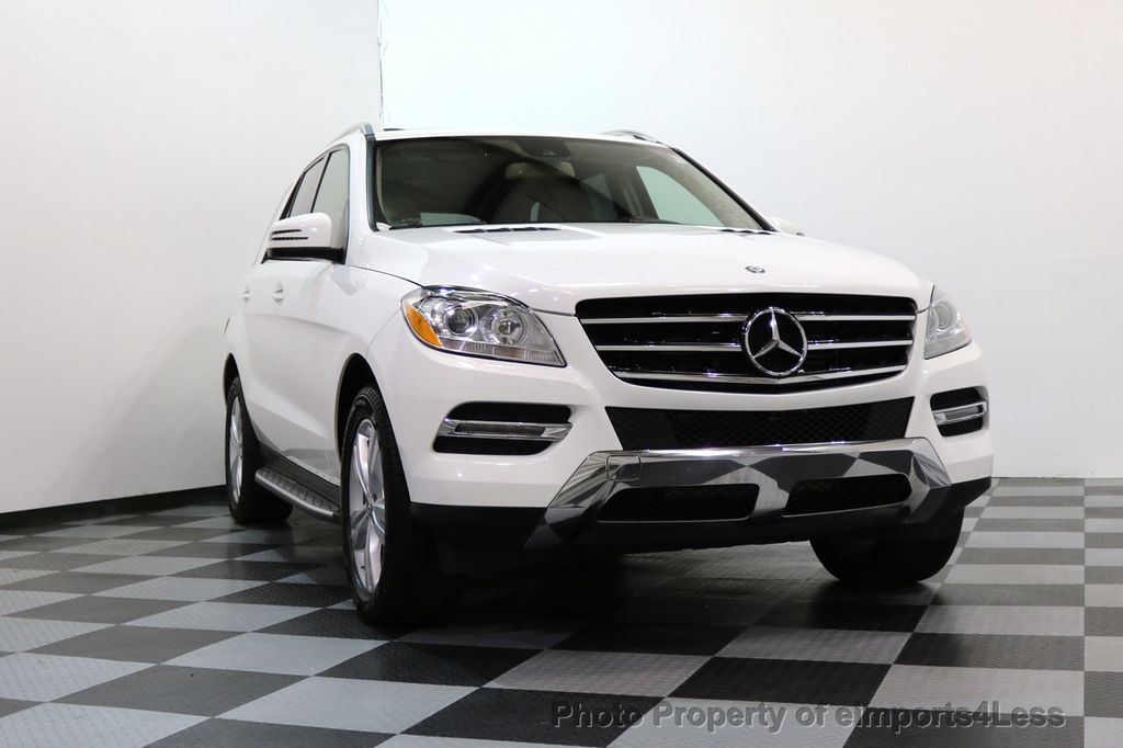 2015 Mercedes-Benz M-Class CERTIFIED ML250 4Matic BlueTec Diesel AWD Blind Spot CAM NAV - 17401782 - 15