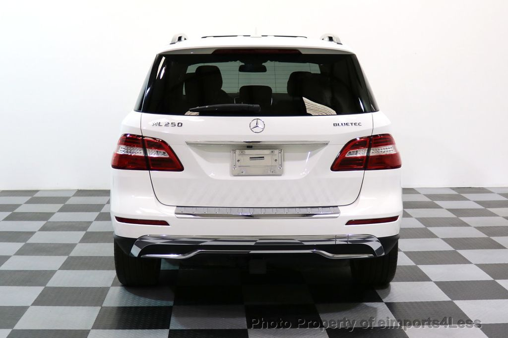 2015 Mercedes-Benz M-Class CERTIFIED ML250 4Matic BlueTec Diesel AWD Blind Spot CAM NAV - 17401782 - 17