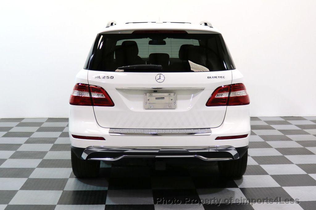 2015 Mercedes-Benz M-Class CERTIFIED ML250 4Matic BlueTec Diesel AWD Blind Spot CAM NAV - 17401782 - 17