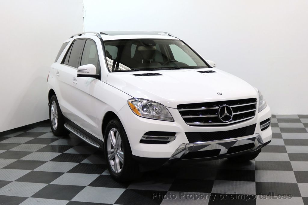 2015 Mercedes-Benz M-Class CERTIFIED ML250 4Matic BlueTec Diesel AWD Blind Spot CAM NAV - 17401782 - 1