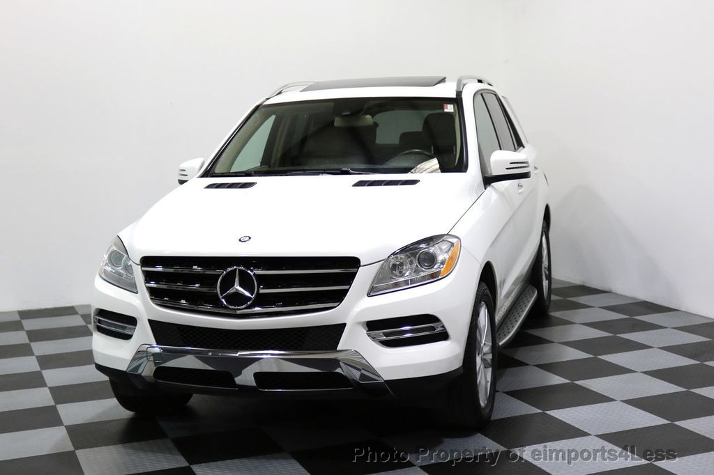 2015 Mercedes-Benz M-Class CERTIFIED ML250 4Matic BlueTec Diesel AWD Blind Spot CAM NAV - 17401782 - 27