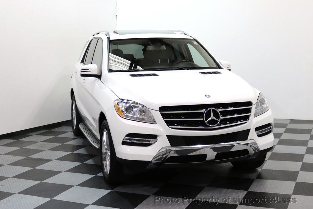 2015 Mercedes-Benz M-Class CERTIFIED ML250 4Matic BlueTec Diesel AWD Blind Spot CAM NAV - 17401782 - 28