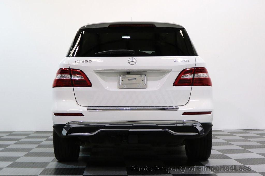 2015 Mercedes-Benz M-Class CERTIFIED ML250 4Matic BlueTec Diesel AWD Blind Spot CAM NAV - 17401782 - 30