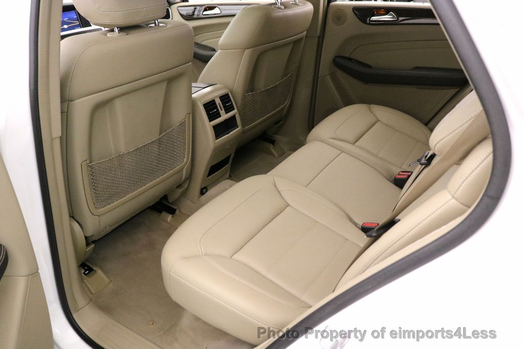 2015 Mercedes-Benz M-Class CERTIFIED ML250 4Matic BlueTec Diesel AWD Blind Spot CAM NAV - 17401782 - 37
