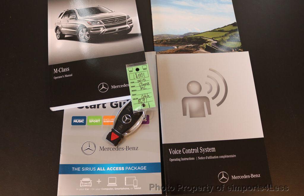 2015 Mercedes-Benz M-Class CERTIFIED ML250 4Matic BlueTec Diesel AWD Blind Spot CAM NAV - 17401782 - 40