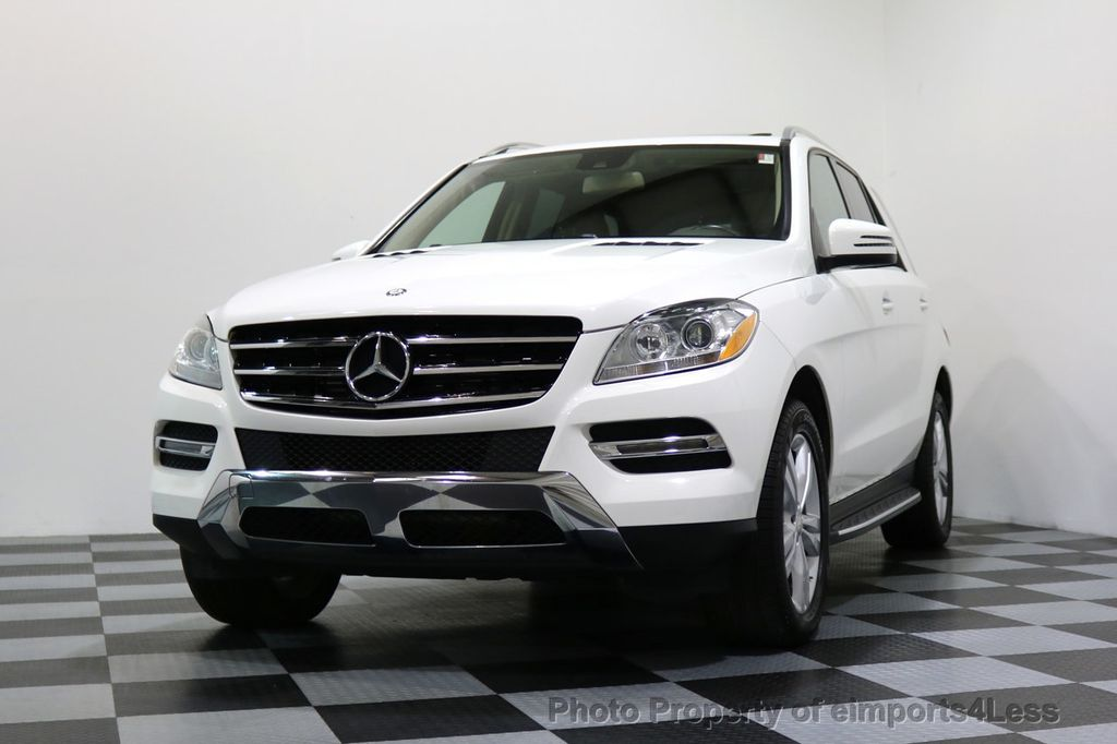 2015 Mercedes-Benz M-Class CERTIFIED ML250 4Matic BlueTec Diesel AWD Blind Spot CAM NAV - 17401782 - 44