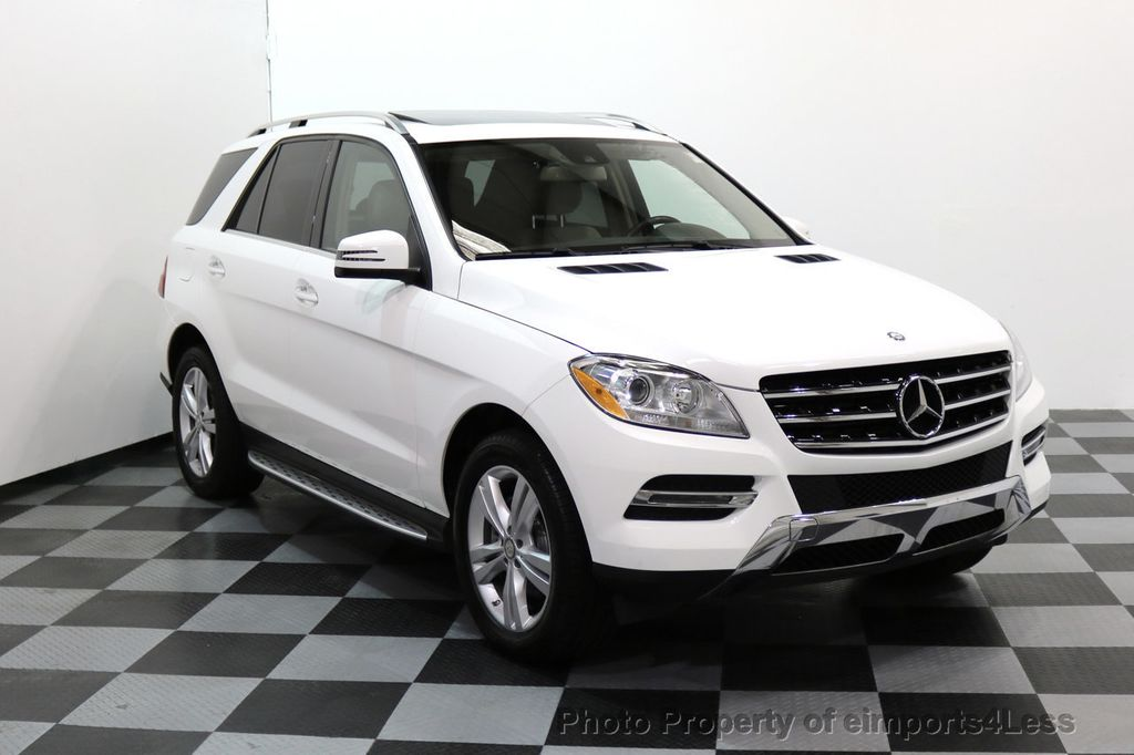 2015 Mercedes-Benz M-Class CERTIFIED ML250 4Matic BlueTec Diesel AWD Blind Spot CAM NAV - 17401782 - 45