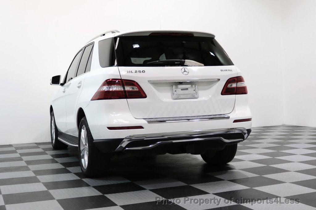 2015 Mercedes-Benz M-Class CERTIFIED ML250 4Matic BlueTec Diesel AWD Blind Spot CAM NAV - 17401782 - 49