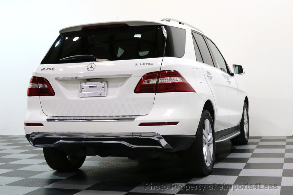 2015 Mercedes-Benz M-Class CERTIFIED ML250 4Matic BlueTec Diesel AWD Blind Spot CAM NAV - 17401782 - 50