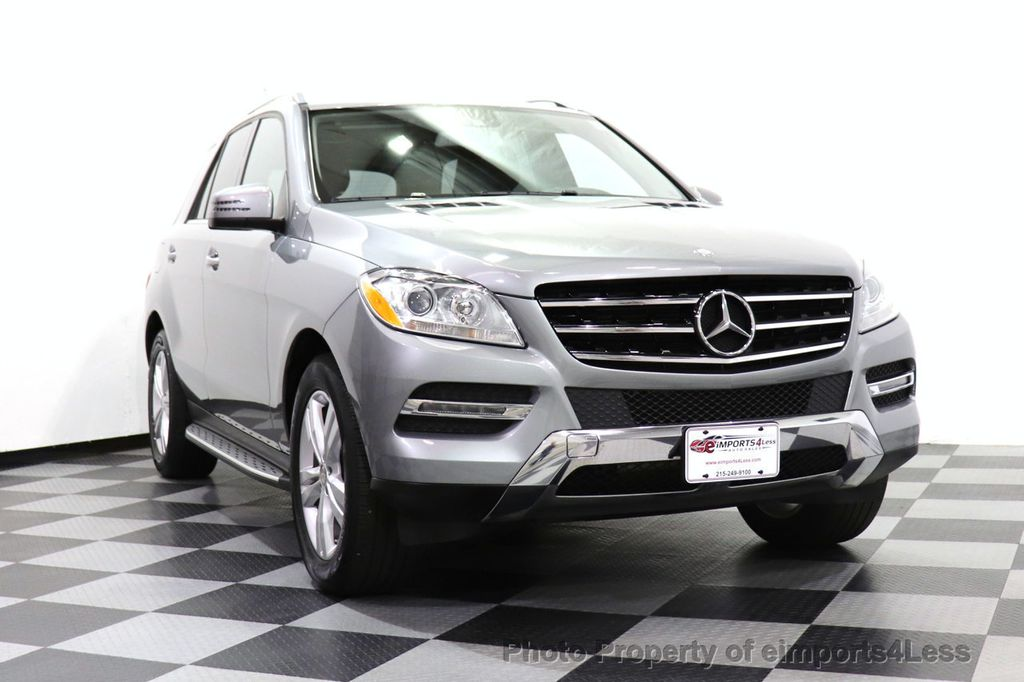 2015 Mercedes-Benz M-Class CERTIFIED ML350 4Matic AWD Blind Spot CAMERA NAVI - 14469202 - 12