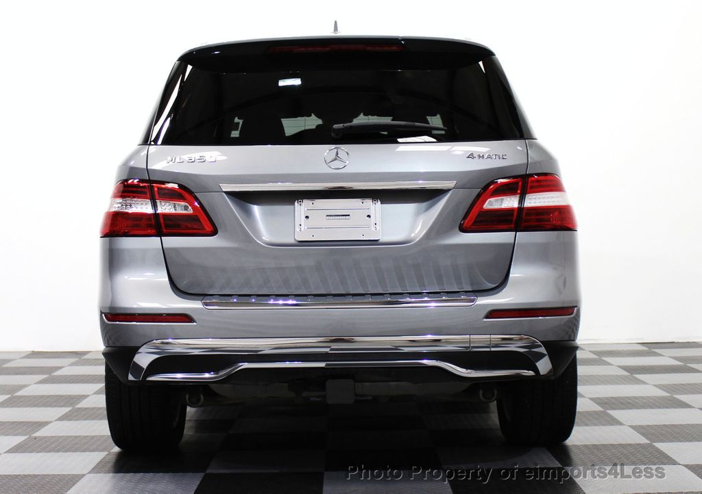 2015 Mercedes-Benz M-Class CERTIFIED ML350 4Matic AWD Blind Spot CAMERA NAVI - 14469202 - 14