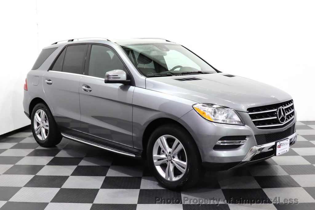 2015 Mercedes-Benz M-Class CERTIFIED ML350 4Matic AWD Blind Spot CAMERA NAVI - 14469202 - 23