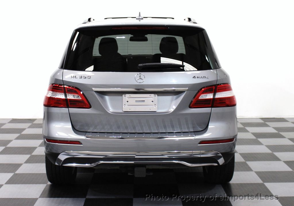 2015 Mercedes-Benz M-Class CERTIFIED ML350 4Matic AWD Blind Spot CAMERA NAVI - 14469202 - 25